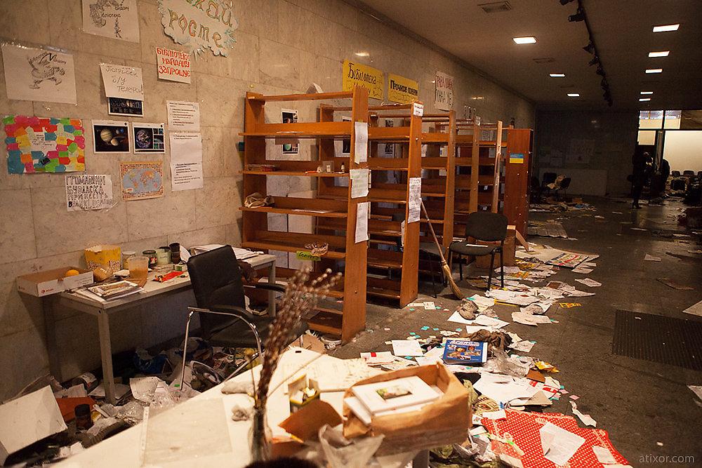 Maidan library