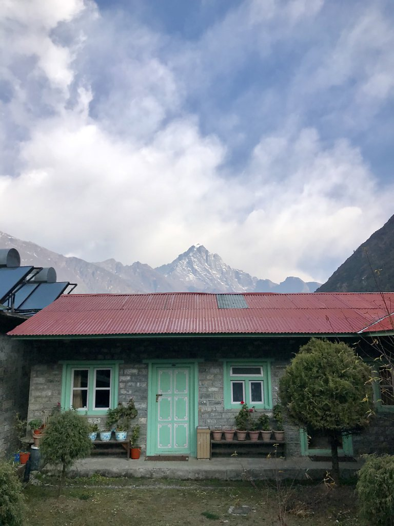 We stayed here in Lukla