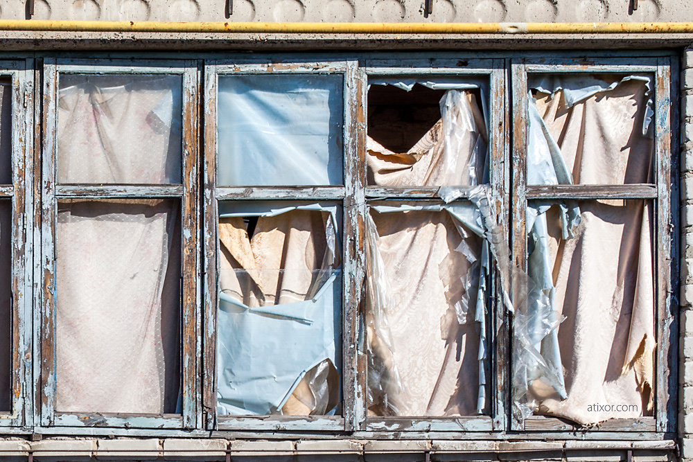 Windows of Donbas